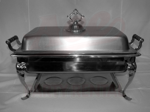 Catering Equipment Chafing Dishes Chafer Rect Royal 8 Qt